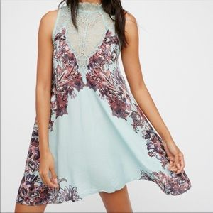 Free People- Intimately-  Lace Top Tunic Dress
